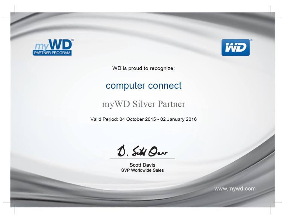 WD Silver Partner